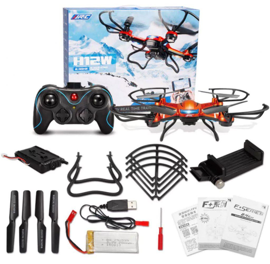 dj drone: JJRC H12W-A