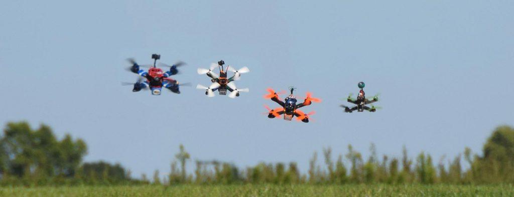 drones racing